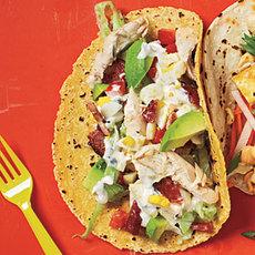 Cobb Salad Tacos