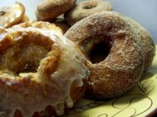 Old-Fashioned Cake Doughnuts (Donuts)