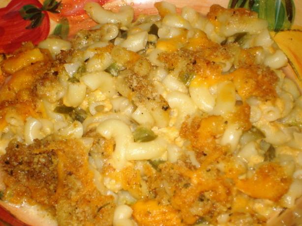 Jalapeno Macaroni & Cheese Casserole