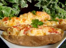 Low-Fat Twice Baked Potatoes