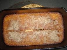 Easy Maple Cinnamon Cornbread
