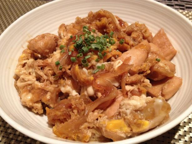 Chicken & Egg Rice Bowl / Oyako-Don