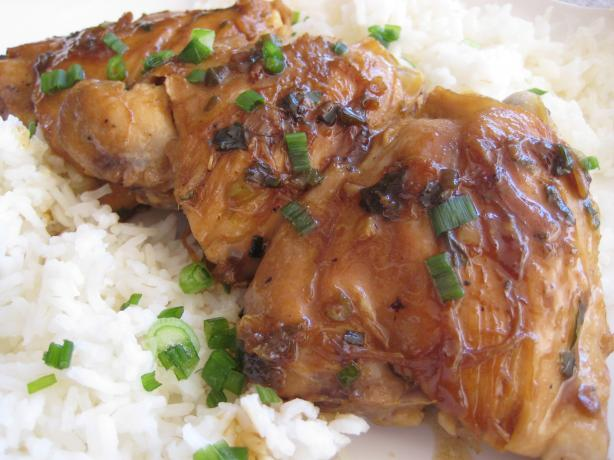 Timely Teriyaki Chicken