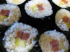 Spam Sushi Maki Rolls