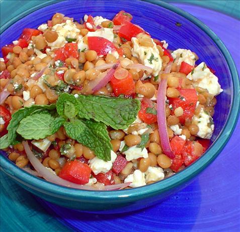 Lebanese Lentil Salad   Bottomless Bites