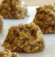 Peanut Butter Oatmeal No Bake Cookies