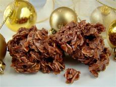 Chocolate Christmas Cookies (No-Bake)