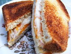 Leftover Rotisserie Chicken Sandwich
