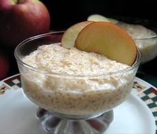 Refreshing Apple Tapioca Pudding