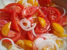 Greek Marinated Tomatoes