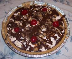 Chocolate Cherry Ice Cream Pie