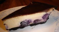 Chocolate Raspberry Cheese Pie
