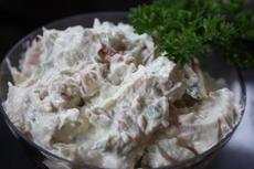 Creamy Horseradish Bacon Dip