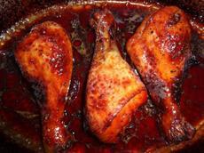 Gordon Ramsay's Sticky Baked Chicken Drumsticks