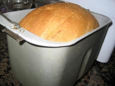 Whole Wheat Molasses Bread (bread Machine)