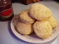 Golden Cheddar Cheese Scones