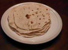 Easy to Make Flour Tortillas