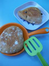Apple Cinnamon Raisin Pitas (Bread Machine)