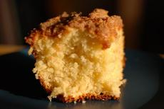 Easy Yeast Apple Crumb Coffee Cake