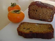 Spicy Japanese Persimmon Bread