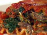 Short Rib Lasagna Rolls
