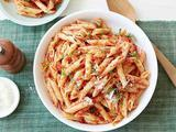 Penne with Sun-Dried Tomato Pesto