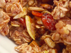 Homemade Cranberry Nut Granola