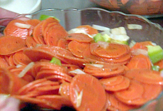 Sweet and Sour Carrots or Copper Pennies