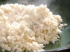 Gingered Brown Rice