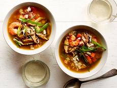 Shrimp Stir-Fry Soup