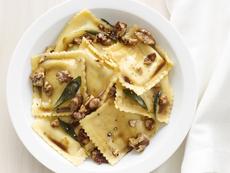 Ravioli With Sage-Walnut Butter