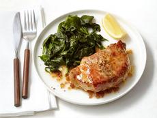 Pork Chops Saltimbocca