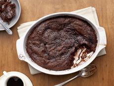 Malted Chocolate Pudding Cake
