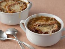 French Three Onion Soup