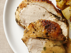 Dry Brined Turkey With Classic Herb Butter