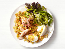 Curried Rice With Smoked Trout