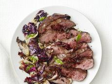 Balsamic Steak With Radicchio