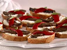 Roasted Portobello Crostini