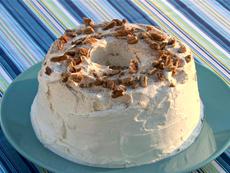 Pecan Cinnamon Angel Food Cake