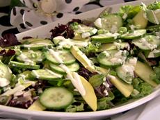Gold and Green Salad
