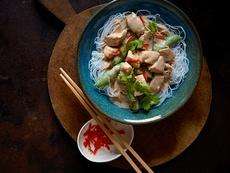Almond Chicken Satay