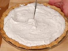Kalidasa's Kicked Up Chocolate Cream Pie