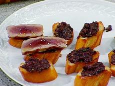 Tuna and Olive Crostini