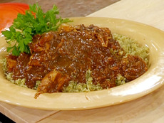 Poblano Pepper-Cilantro Rice