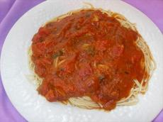 Oh My!!! Spaghetti Sauce (Low Fat)
