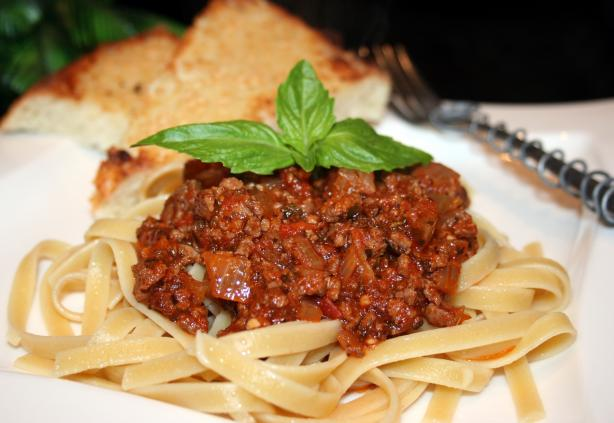 Yet Another Spaghetti Sauce