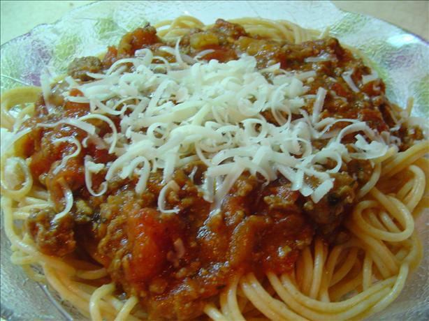 Not World Famous Spaghetti Sauce