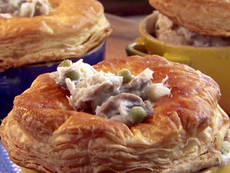 Buttery Crab Pot Pies