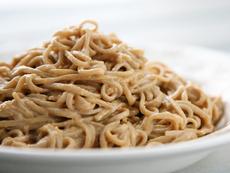 Chilled Peanut Soba Noodles
