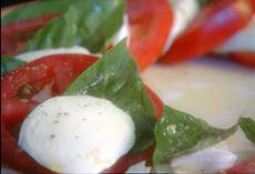 Paula's Mozzarella and Tomato Salad